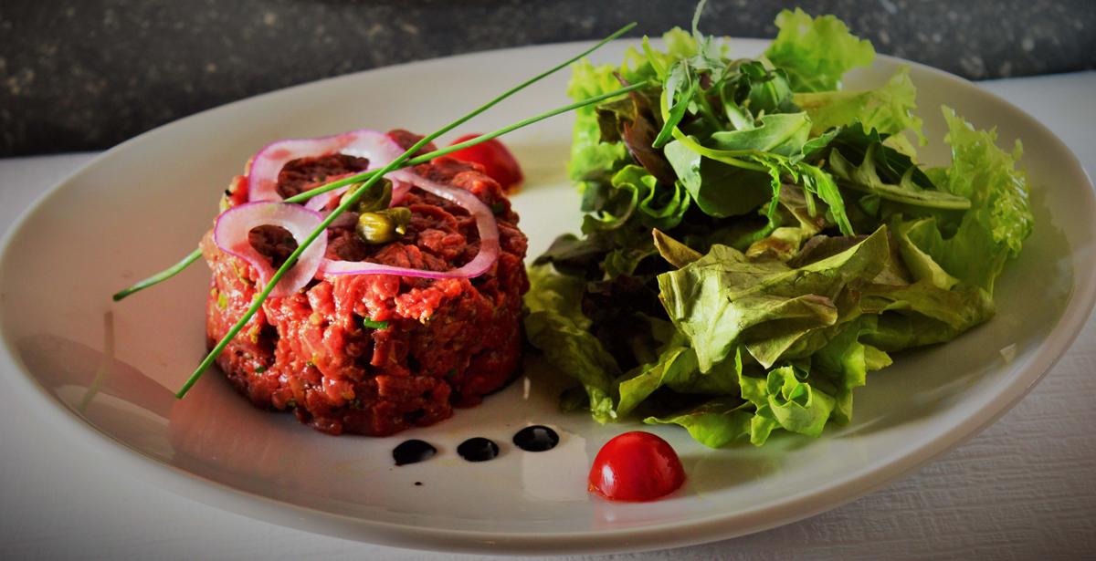 Restaurant grill et terrasse au c ur de florissant - Tartare de boeuf cyril lignac ...