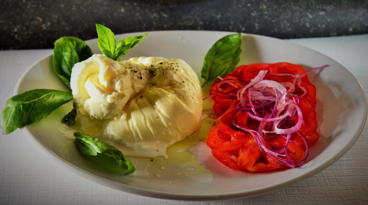 restaurant meilleure mozzarella buratta florissant genève